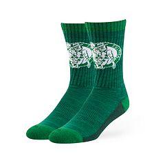 Adult 47 Brand Boston Celtics Colorblocked Crew Sock