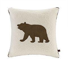 Woolrich Bear Berber Throw Pillow