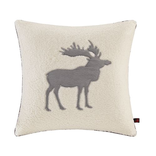 Woolrich Moose Berber Throw Pillow