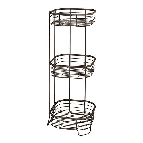 Interdesign Forma 3-tier Square Shower Shelf