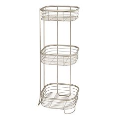 Interdesign Forma 3-tier Square Shower Shelf