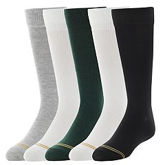 Girls 4-16 Gold Toe 5-pack Knee High Socks
