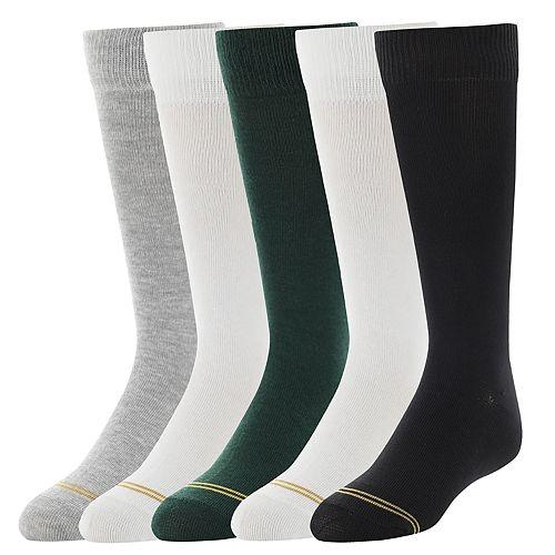 Girls 4-16 Gold Toe 5-pack Knee High Socks