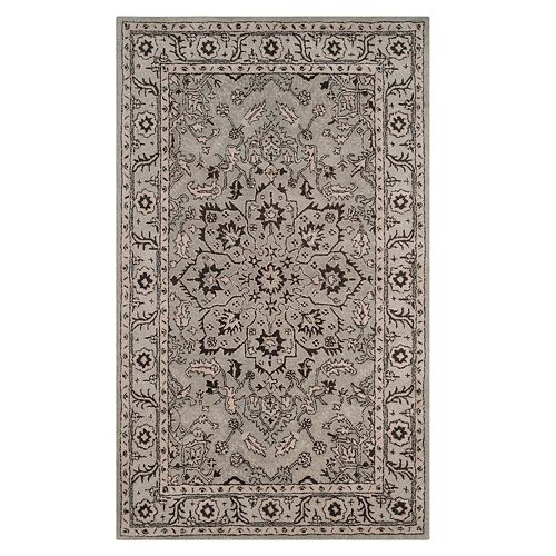 Safavieh Antiquity Winona Framed Floral Wool Rug