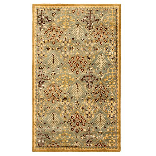 Safavieh Antiquity Samantha Framed Floral Wool Rug