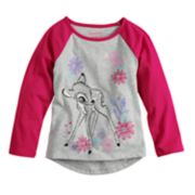 Disney's Bambi Glitter Graphic Raglan Tee by Jumping Beans®