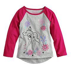 Disney's Bambi Glitter Graphic Raglan Tee by Jumping Beans®
