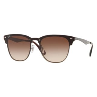 Ray-Ban Blaze Clubmaster RB3576 41mm Square Gradient Sunglasses