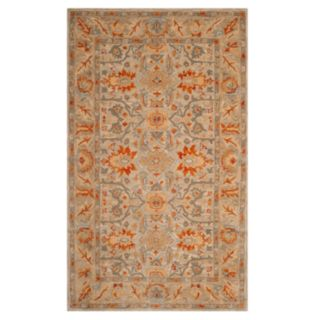 Safavieh Antiquity Amber Framed Floral Wool Rug