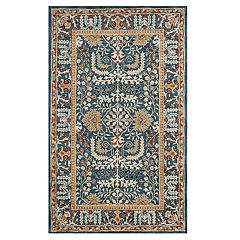 Safavieh Antiquity Henny Framed Floral Wool Rug