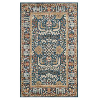 Safavieh Antiquity Henny Framed Floral Wool Rug
