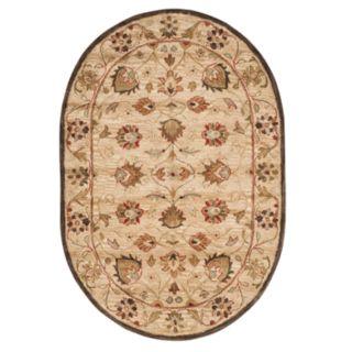 Safavieh Antiquity Margaret Framed Floral Wool Rug