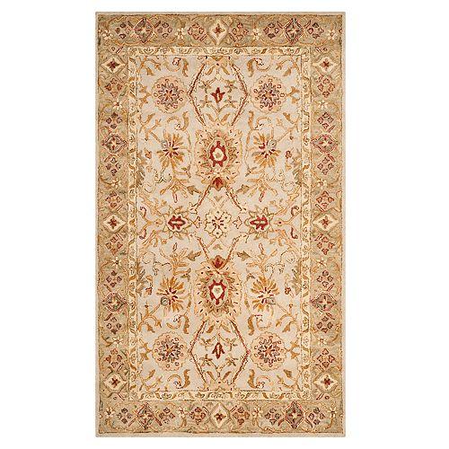 Safavieh Antiquity Lisa Framed Floral Wool Rug