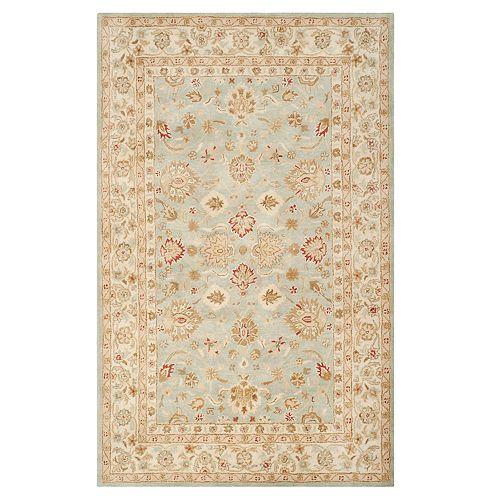 Safavieh Antiquity Dorrie Framed Floral Wool Rug