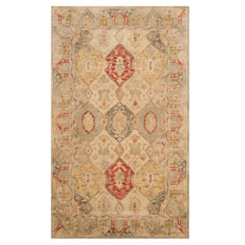 Safavieh Antiquity Victoria Framed Floral Wool Rug