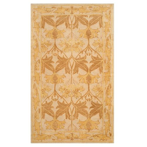 Safavieh Antiquity Kallie Framed Floral Wool Rug
