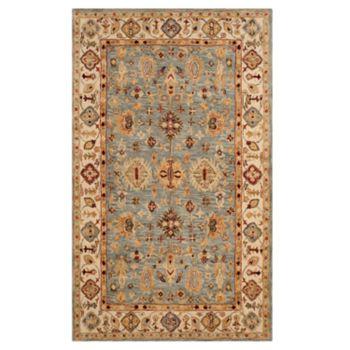Safavieh Antiquity Sabrina Framed Floral Wool Rug