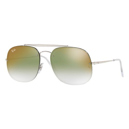Ray-Ban RB3583 58mm Square Mirrored Gradient Sunglasses