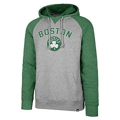 Men's '47 Brand Boston Celtics Match Blend Raglan Hoodie
