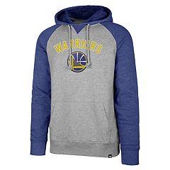 Men's '47 Brand Golden State Warriors Match Blend Raglan Hoodie