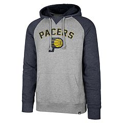 Men's '47 Brand Indiana Pacers Match Blend Raglan Hoodie