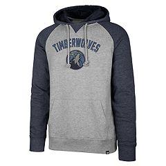 Men's '47 Brand Minnesota Timberwolves Match Blend Raglan Hoodie