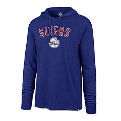 Men's '47 Brand Philadelphia 76ers Club Hooded Tee