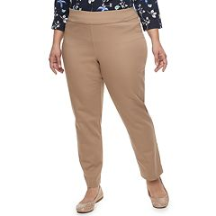 Plus Size Croft & Barrow® Effortless Stretch Pull-On Pants
