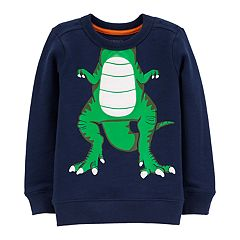Toddler Boy Carter's Dinosaur Character Pullover Top
