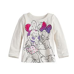 Disney's Minnie Mouse & Daisy Duck Baby Girl Long Sleeve Graphic Tee by Jumping Beans®