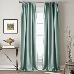 Window Curtainworks 1-Panel Textured Hollister Room Darkening Window Curtain