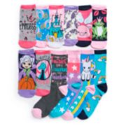 Girls 4-16 Pink Cookie 12 Days of Socks Advent Calendar