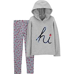 Girls 4-8 Carter's Ladybug Hoodie & Leggings Set