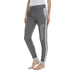 Women's Walkoff Oakland Raiders French Terry Lounge Pants