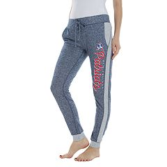 Women's Walkoff New England Patriots French Terry Lounge Pants