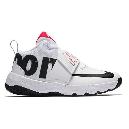 32da1ffd5e09 Nike Team Hustle D 8 JDI Grade School Boys  Basketball Shoes