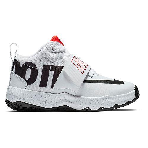 c0428cb263d Nike Team Hustle D 8 JDI Preschool Boy s Basketball Shoes