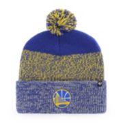 Adult 47 Brand Golden State Warriors Pom Pom Hat