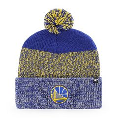 Adult 47 Brand Golden State Warriors Pom Pom Hat