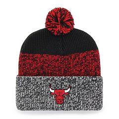 reputable site 71499 ca471 Adult 47 Brand Chicago Bulls Pom Pom Hat