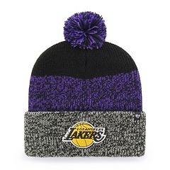 Adult 47 Brand Los Angeles Lakers Pom Pom Hat