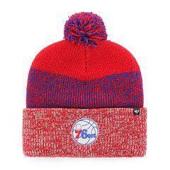 Adult 47 Brand Philadelphia 76ers Pom Pom Hat
