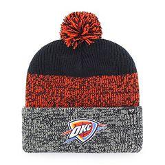 Adult 47 Brand Oklahoma City Thunder Pom Pom Hat