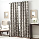 Window Curtainworks 1-Panel Trellis Gateway Room Darkening Window Curtain