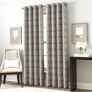 Window Curtainworks 1-Panel Trellis Gateway Room Darkening Window Curtain