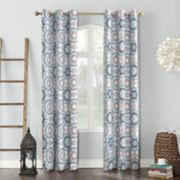 Sun Zero Blackout 1-Panel Nepal Curtain