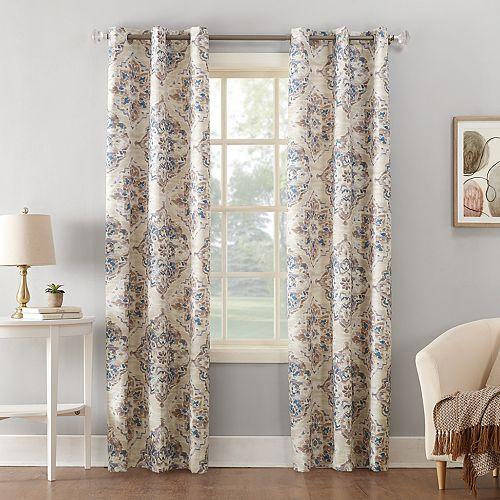 Sun Zero 1-Panel Regina Thermal Insulated Curtain