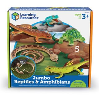 Learning Resources Jumbo Reptiles & Amphibians