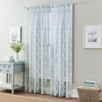 Medallion 2-pack Namaste Sheer Window Curtains