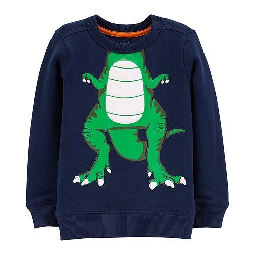 65941e494998 Baby Boy Carter s Dinosaur Character Pullover Top